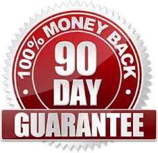 90 day guarantee-100% money back